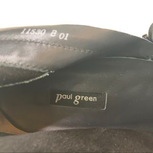 Paul Green Shoes - Paul Green | Jax Bootie | Black Suede